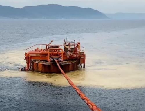 Georgian NGOs express concern over oil spill off Russia's Black Sea coast
