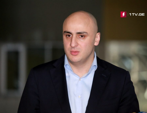 Leader of Georgia's main opposition party stripped of his seat in parliament