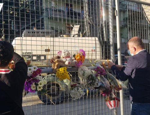 Georgia mourns nine victims of building collapse